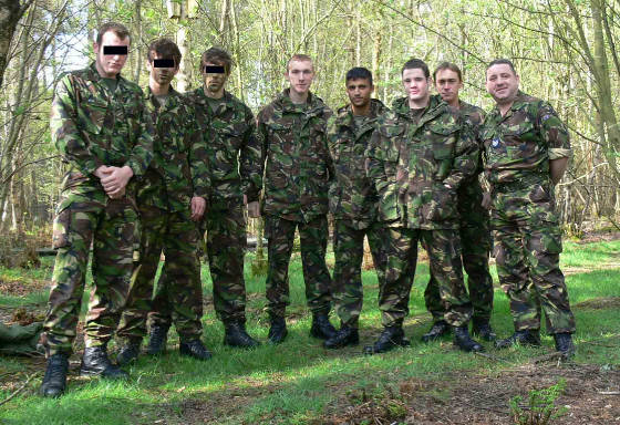 Volunteers from 34 and 58 Sqns RAF Regiment