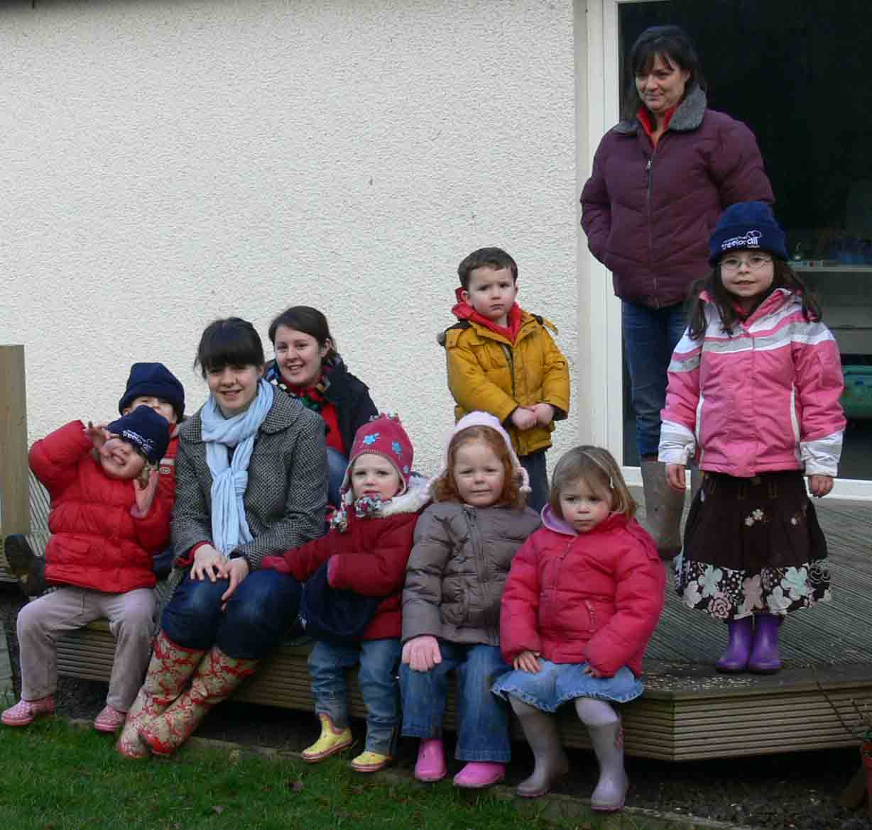 Field trip for the Red Squirrel Childrens Nursery